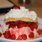 Strawberry Shortcake Ala Mode